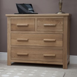 Modern Solid Oak 2 over 2...