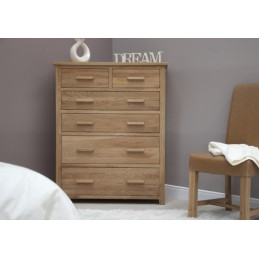 Modern Solid Oak Jumbo Chest