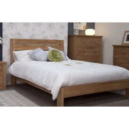 Modern Solid Oak Slatted Beds