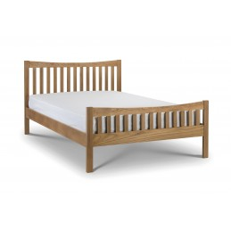 Borgan Solid Oak Bed Frames