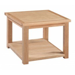 Moderna Solid Oak Lamp Table