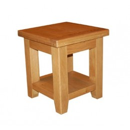 Hampshire Solid Oak Lamp Table