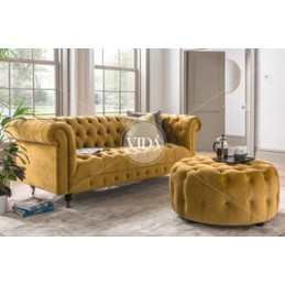 Denby Velvet Chesterfield 2...