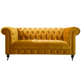 Denby Velvet Chesterfield 3...
