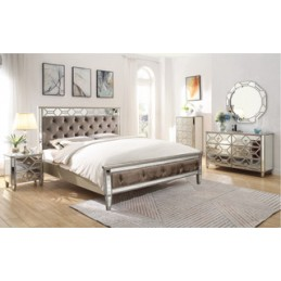 Rosie Mirrored Bed Frames