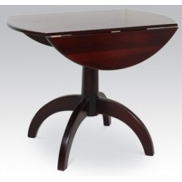 Pedestal Drop Leaf Polished...