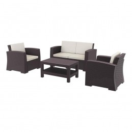 Monarch Dark Brown Rattan...