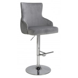 Sisco Brushed Velvet Grey,...