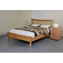 Ultra 5ft Solid Oak Bed OFFER
