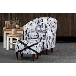 Byron Fabric Tub Chair