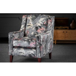 Clara Fabric Accent Armchair