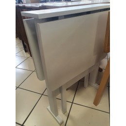 214 Gateleg Table White...