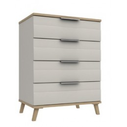 Durant 3 Colour 4 Drawer Chest