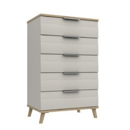 Durant 3 Colour 5 Drawer Chest