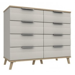 Durant 3 Colour 4+4 Drawer...