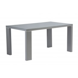 Solo 1.5 Grey Gloss Table &...