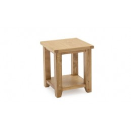 Cranmore Solid Oak Lamp Table