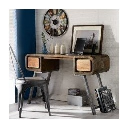 Aspen Iron and Wood Console...