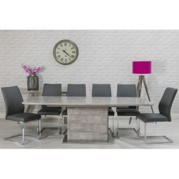 Shown with seaton chairs