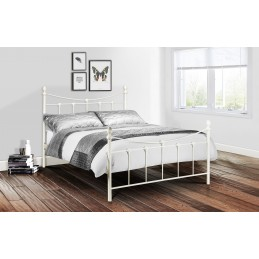 Becky Ivory Metal Beds