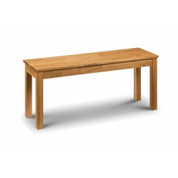 Caxton Solid Oak Dining Bench
