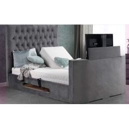 Tele Ethan Fabric TV Bed