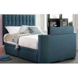 Tele Sparkle Fabric TV Bed