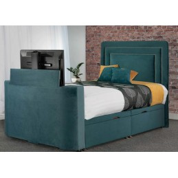 Tele Debut Fabric TV Bed