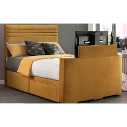 Tele Chic Fabric TV Bed