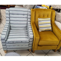 Blakeley 1 Seater Fabric...