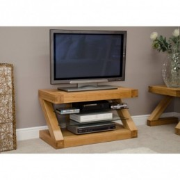 Zed Solid Oak TV Unit