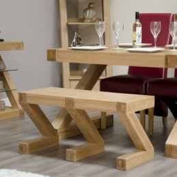 Zed Solid Oak Small Dining...