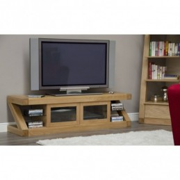 Zed Solid Oak Glazed TV...
