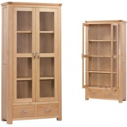 Treviso Oak Glazed Display...