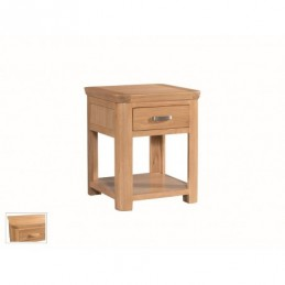 Treviso Oak Lamp Table With...