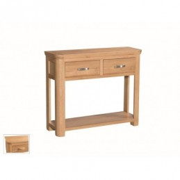 Travis Solid Oak 2 Drawer...