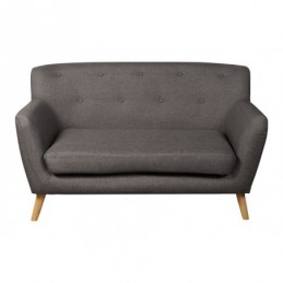 Eton Grey Fabric 2 Seater Sofa