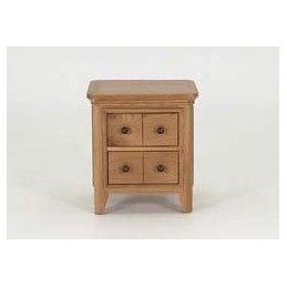 Carmen Solid Oak Lamp Table