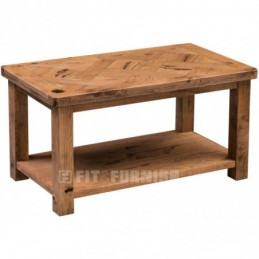 Aztec Rustic Oak Coffee Table