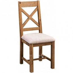 Aztec Rustic Oak Dining Chair