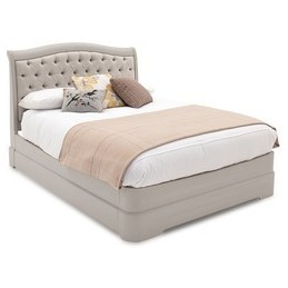 Malmo Taupe Painted 6ft Bed