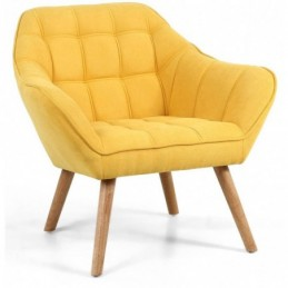 Colarado Yellow Accent Chair