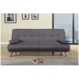 Logan Grey Fabric Sofa Bed