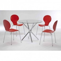 Shown with Red Ibiza Chairs