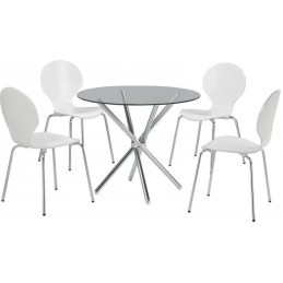 Shown with White Ibiza Chairs