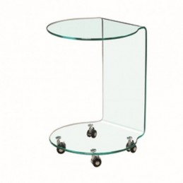 Azurro Glass Lamp Tables
