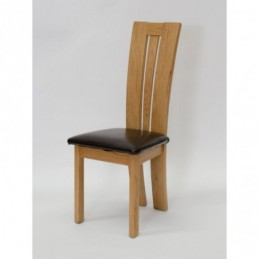 Venezia Solid Oak Chair (Pair)