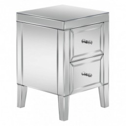 Valencia Mirrored 2 Drawer...