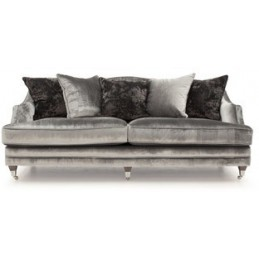 Bella Velvet Grey Fabric 4...