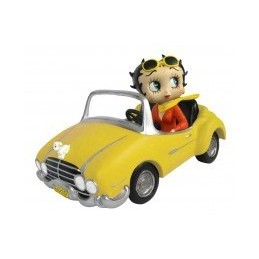 Betty Boop in Yellow Sports...